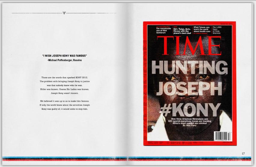 Hunting Joseph Kony spread