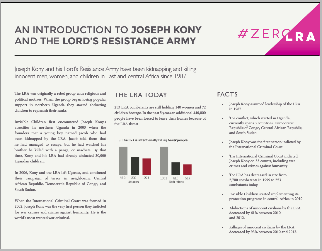 #ZeroLRA fact sheet