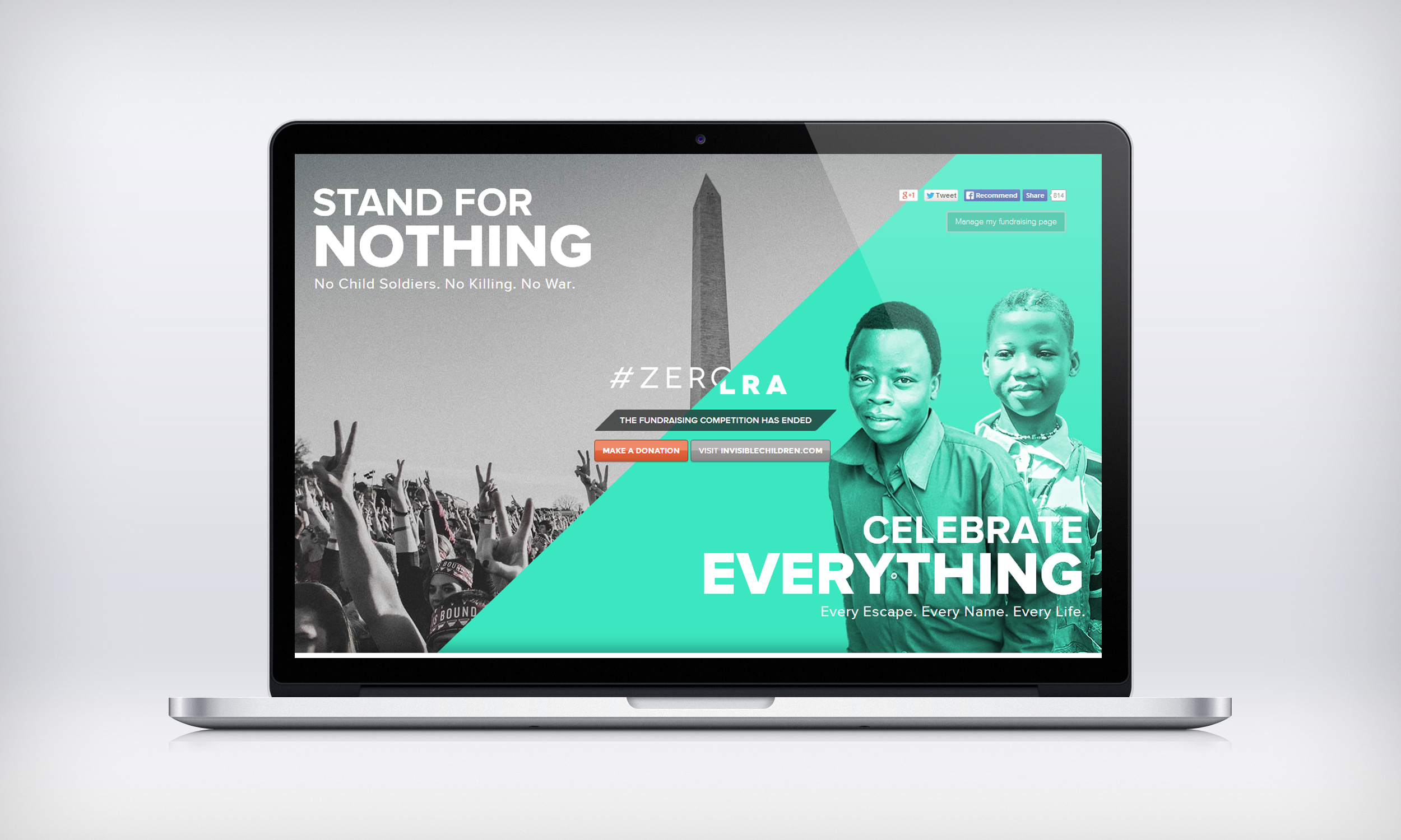#zeroLRA Fundraising Campaign